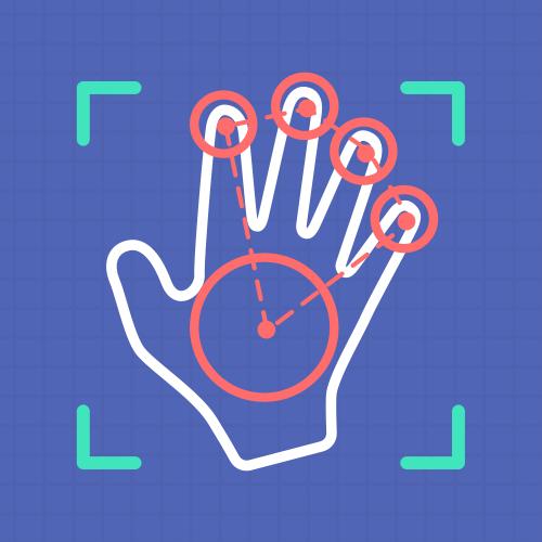 手部及关键部位目标定位识别