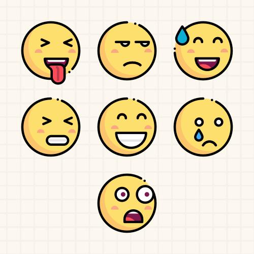 7种表情分类